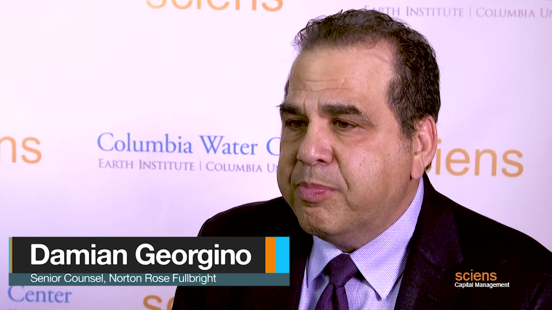 New York lawyer discusses global water and wastewater transactions and financings at Columbia University Conference